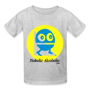 Chops the Diabolic Alcoholic - Kids' T-Shirt