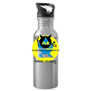Chops the Diabolic Alcoholic - Water Bottle