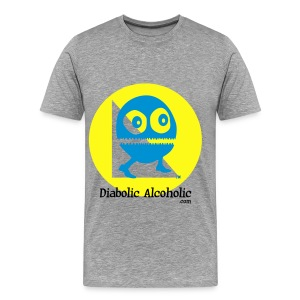 Chops the Diabolic Alcoholic - Men's Premium T-Shirt
