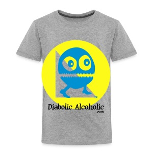 Chops the Diabolic Alcoholic - Toddler Premium T-Shirt