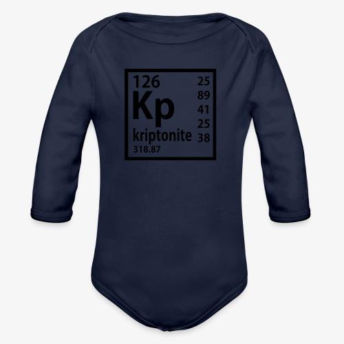 Kriptonite - Organic Long Sleeve Baby Bodysuit