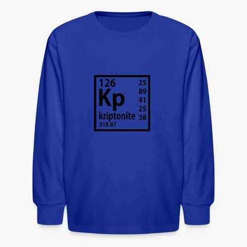Kriptonite - Kids' Long Sleeve T-Shirt