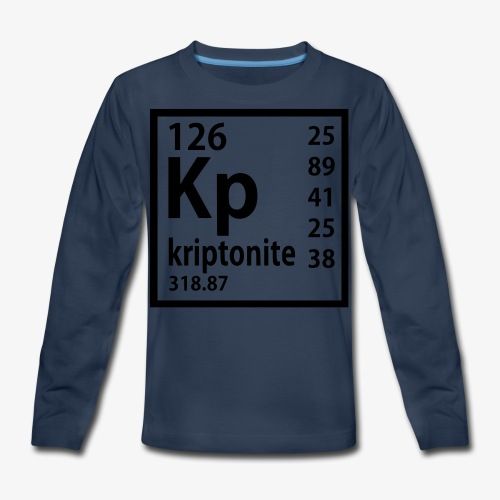Kriptonite - Kids' Premium Long Sleeve T-Shirt