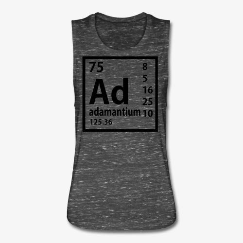 Adamantium - Women's Flowy Muscle Tank by Bella