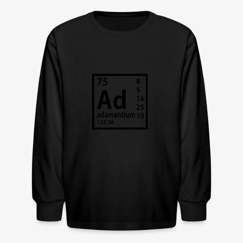 Adamantium - Kids' Long Sleeve T-Shirt