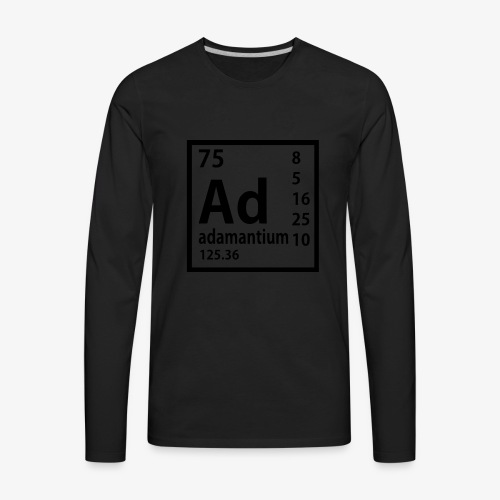 Adamantium - Men's Premium Long Sleeve T-Shirt