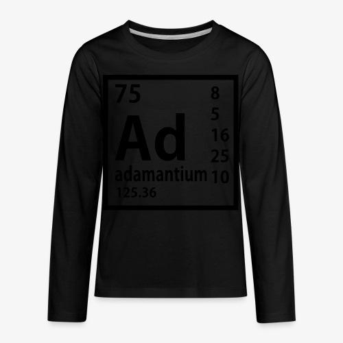 Adamantium - Kids' Premium Long Sleeve T-Shirt