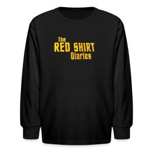 The Red Shirt Diaries Official T-Shirt (Women) - Kids' Long Sleeve T-Shirt