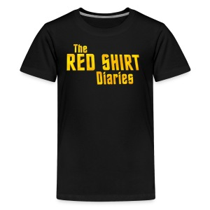 The Red Shirt Diaries Official T-Shirt (Women) - Kids' Premium T-Shirt