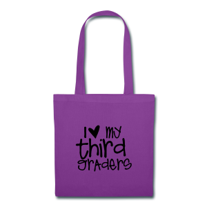 Love My Third Graders | Light Purple - Tote Bag
