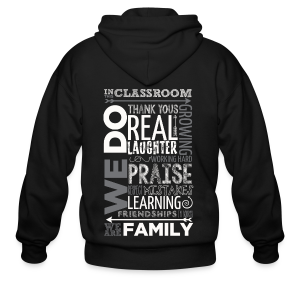 In Our Classroom - Men's Zip Hoodie