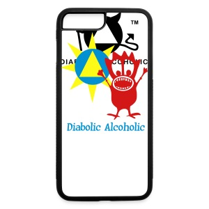 Joplin the Diabolic Alcoholic - iPhone 7 Plus Rubber Case