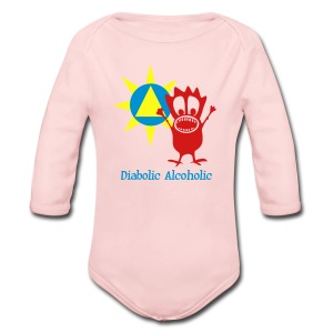 Joplin the Diabolic Alcoholic - Long Sleeve Baby Bodysuit