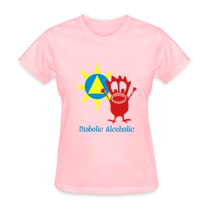 Joplin the Diabolic Alcoholic - Women's T-Shirt