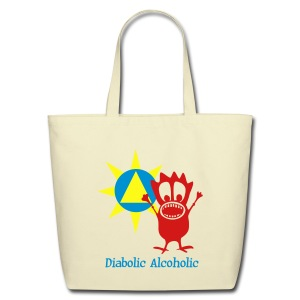 Joplin the Diabolic Alcoholic - Eco-Friendly Cotton Tote