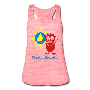 Joplin the Diabolic Alcoholic - Women's Flowy Tank Top by Bella