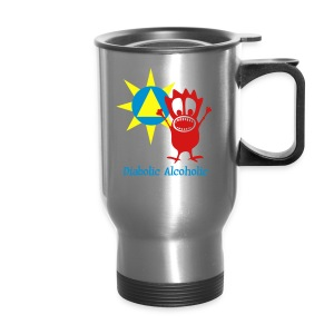Joplin the Diabolic Alcoholic - Travel Mug