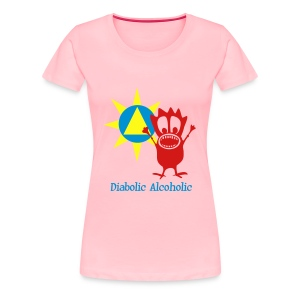 Joplin the Diabolic Alcoholic - Women's Premium T-Shirt
