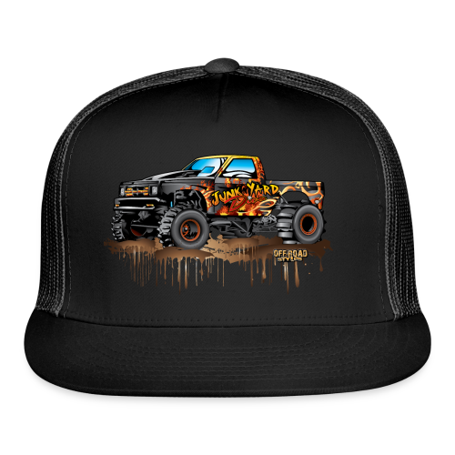 Junk Yard Diva Mud Truck - Trucker Cap