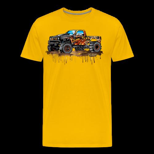Junk Yard Diva Mud Truck - Men's Premium T-Shirt