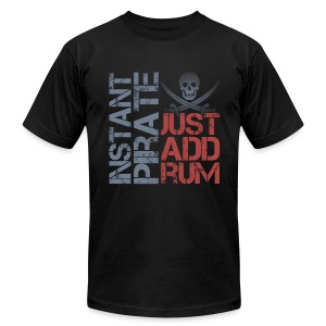 Instant Pirate - Men's T-Shirt by American Apparel