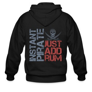Instant Pirate - Men's Zip Hoodie
