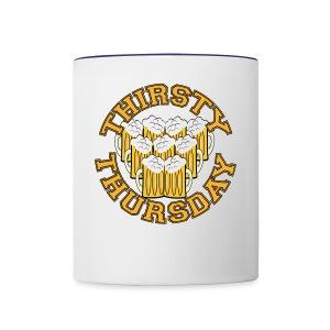 Thirsty Thursday - Contrast Coffee Mug