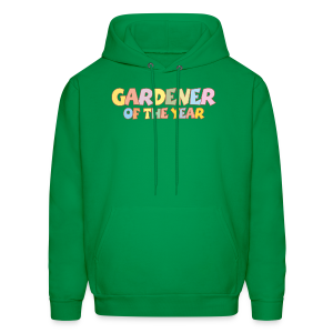 Gardener of the Year T-Shirt (Green/Kids) Colors - Men's Hoodie