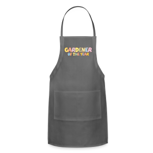 Gardener of the Year T-Shirt (Green/Kids) Colors - Adjustable Apron