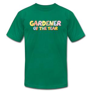 Gardener of the Year T-Shirt (Green/Kids) Colors - Men's T-Shirt by American Apparel