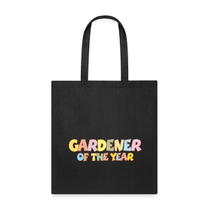 Gardener of the Year T-Shirt (Green/Kids) Colors - Tote Bag