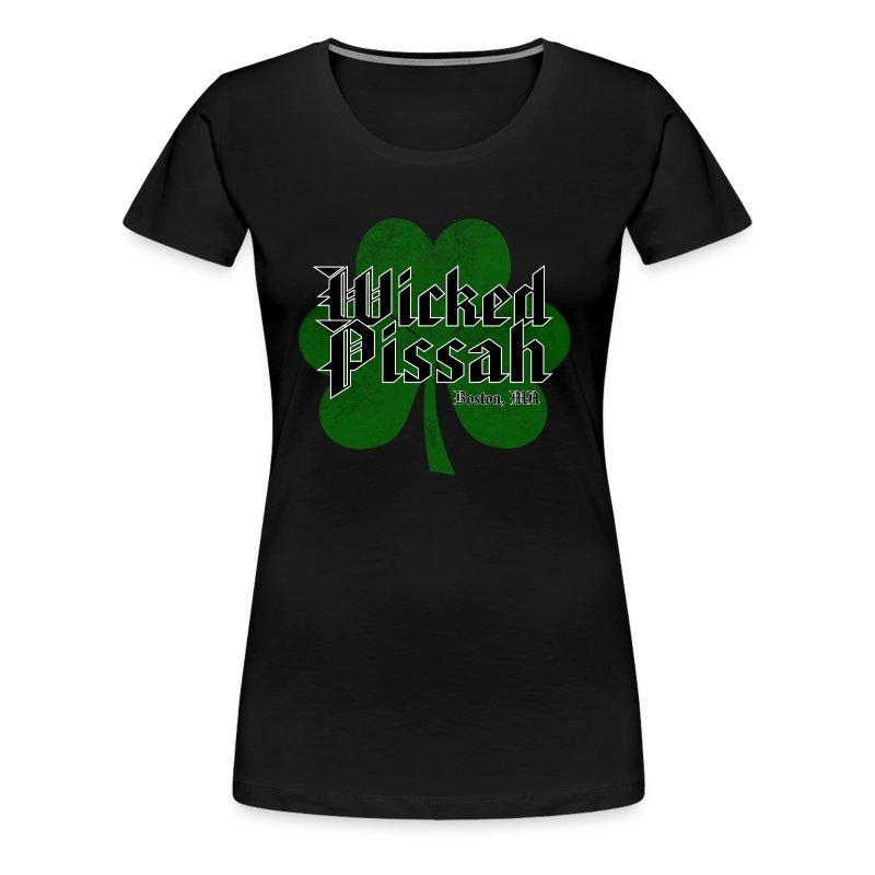 Wicked Pissah Boston MA - Women's Premium T-Shirt