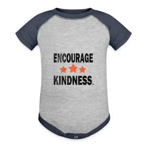 Promote Kindness  - Kids' Tee - Baby Contrast One Piece