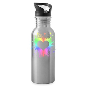Heart Splash - Water Bottle