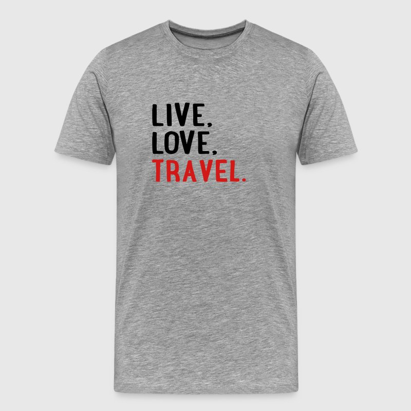 travel T-Shirts - Men's Premium T-Shirt