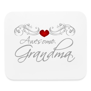Awesome Grandma - Mouse pad Horizontal