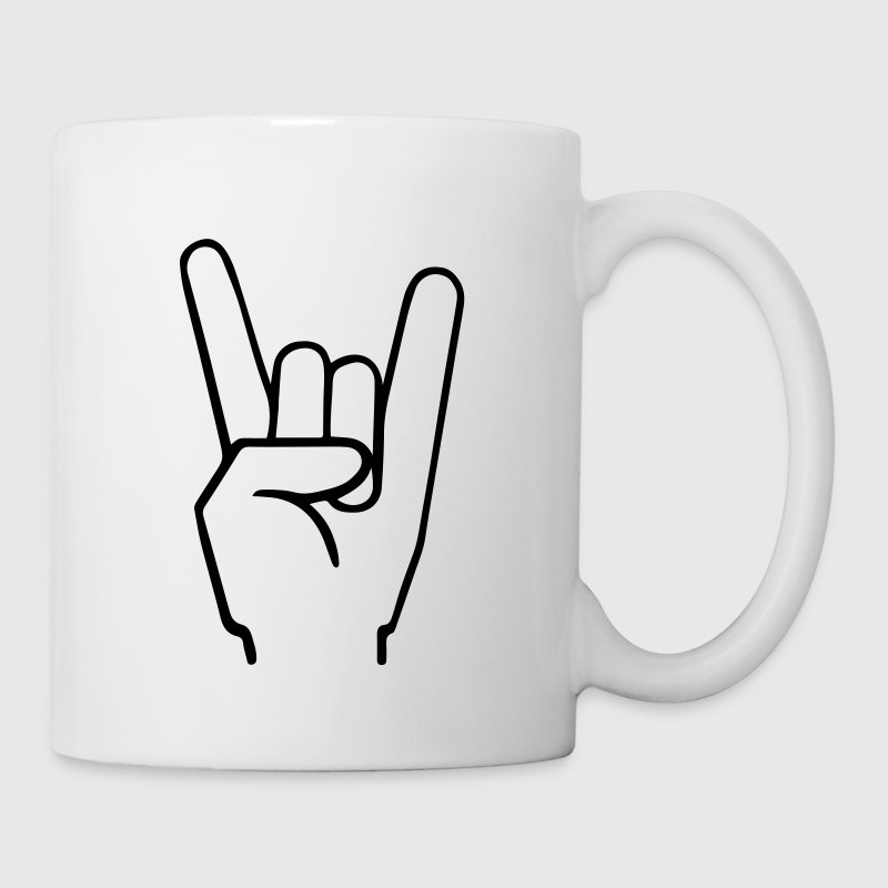 Heavy Metal Fingers Bottles & Mugs - Coffee/Tea Mug