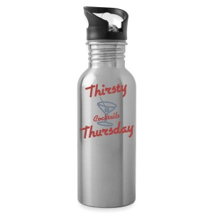 Retro Thirsty Thursday - Water Bottle