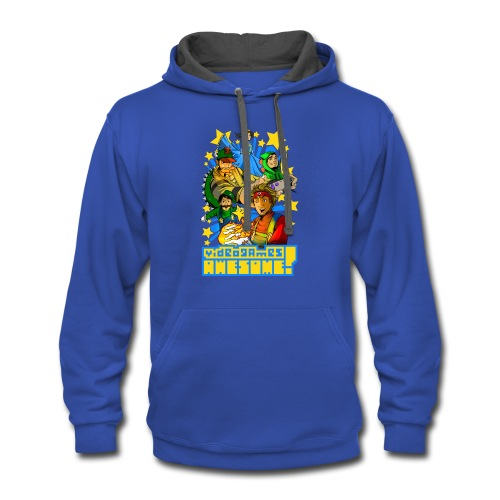 Playing with Fire - Contrast Hoodie