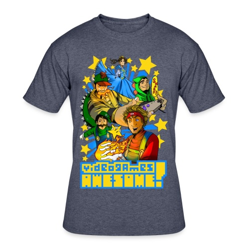 Playing with Fire - Men's 50/50 T-Shirt