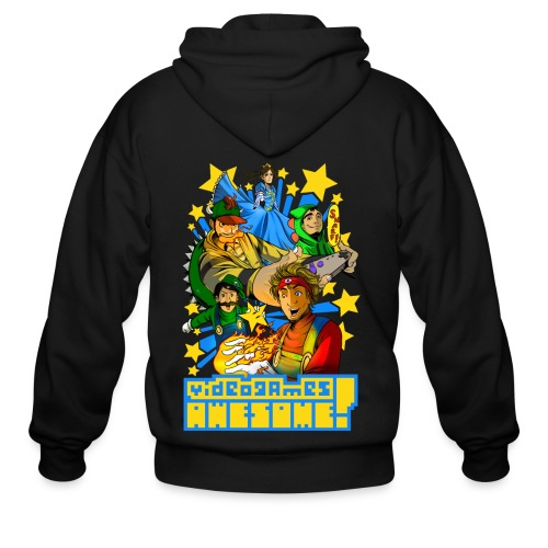 Playing with Fire - Men's Zip Hoodie