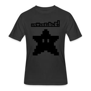 Invincible! (Glow in the Dark) - Men's 50/50 T-Shirt