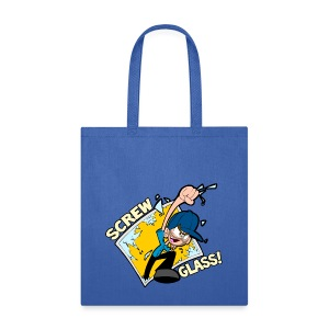 Screw Glass! - Tote Bag