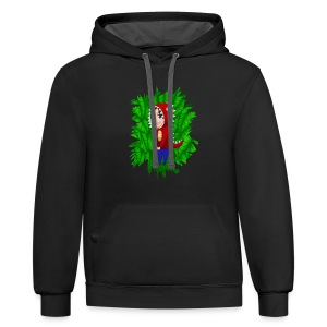 A Wild Becky Appears - Contrast Hoodie