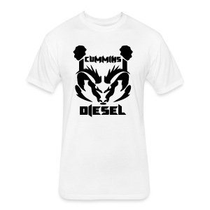 CM Diesel - Fitted Cotton/Poly T-Shirt by Next Level
