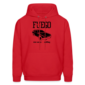 Rogue Fuego With (Brown/Yellow) - Men's Hoodie