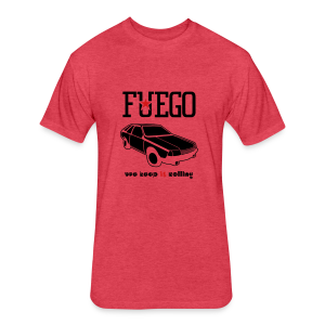 Rogue Fuego With (Brown/Yellow) - Fitted Cotton/Poly T-Shirt by Next Level