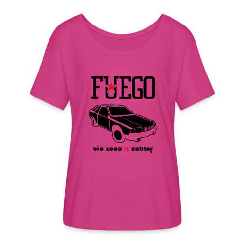 Rogue Fuego With (Brown/Yellow) - Women's Flowy T-Shirt