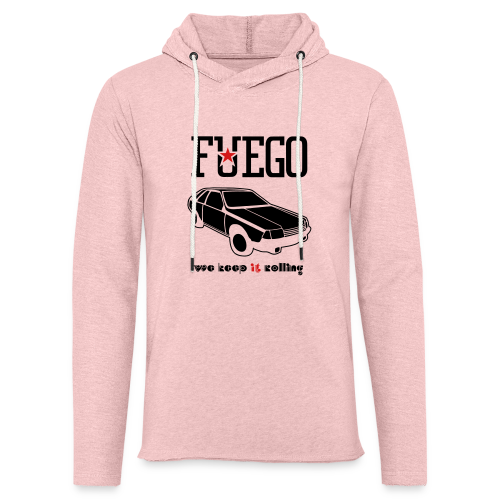 Rogue Fuego With (Brown/Yellow) - Unisex Lightweight Terry Hoodie