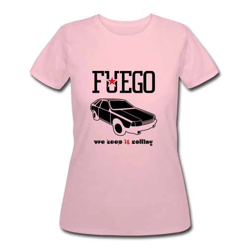 Rogue Fuego With (Brown/Yellow) - Women's 50/50 T-Shirt